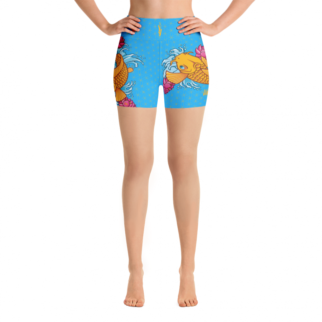 KoiFishShortsBlue_KoiFishShortsBlueAV_KoiFishShortsBlueAR_mockup_Front_White