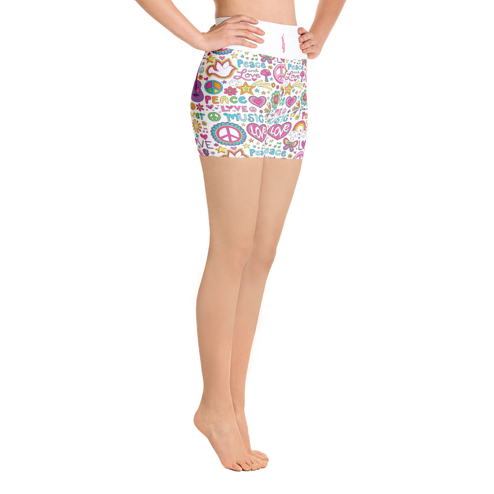 1d80b89532b Chart Size  Yoga Shorts US Size by YogaYam. Premium Quality Yoga Clothes