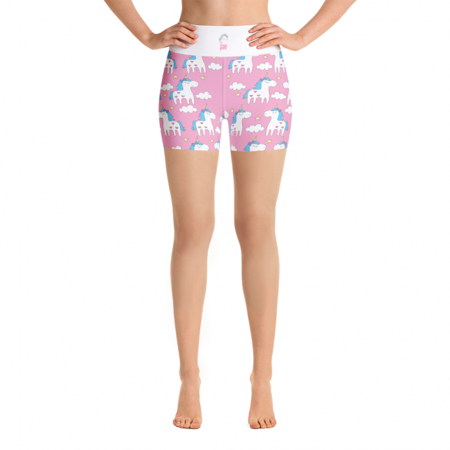 PinkUnicornShort_UnicornShortAV_UnicornShortAR_mockup_Front_White