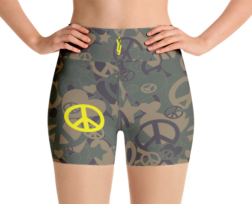 b3fcfcccc5f Military Shorts - Unique Yoga Clothes - YogaYam