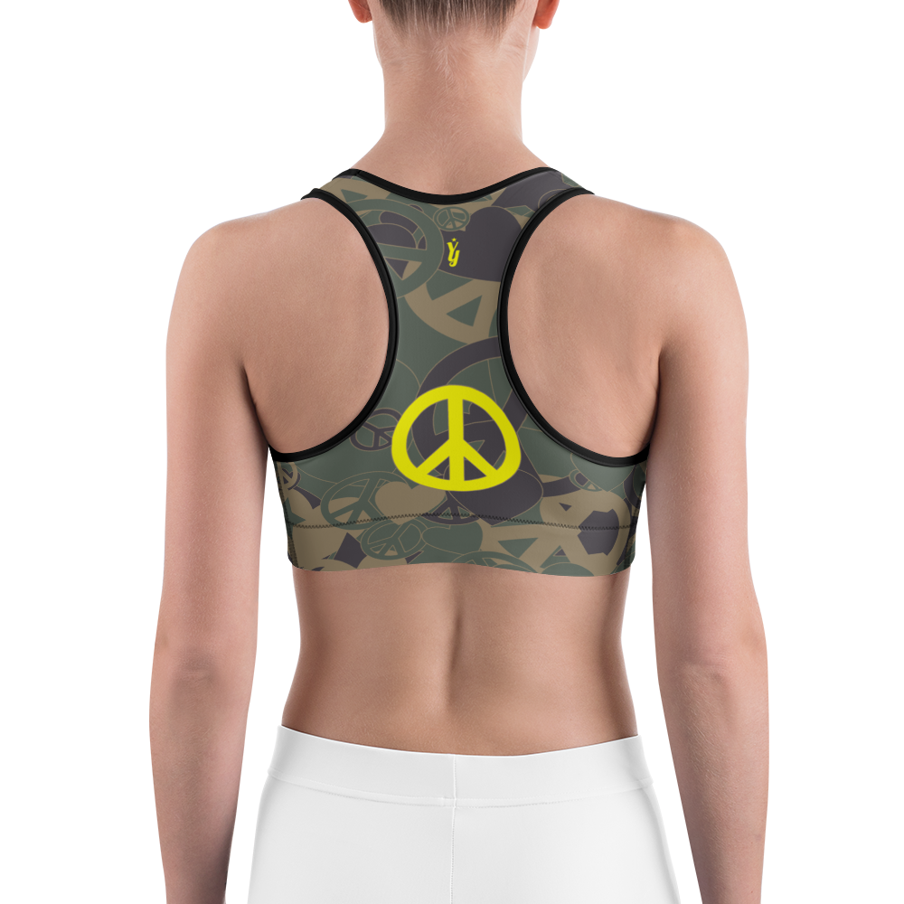 8cc00748775 Military Bralette - Unique Yoga Clothes - YogaYam